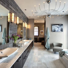 Transitional Bathrooms from Bruce Rosenblum : Designers' Portfolio 4425 : Home &