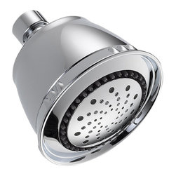 Delta 5-Setting Shower Head - 52678-PK - Getting ready in the morning is far from routine when you're surrounded by a room and in the company of a faucet that reflects your personal style
