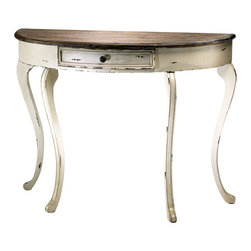 Cyan Design - Abelard Console Table - Abelard console table - distressed white and gray