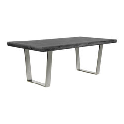 Bateau Grey Dining Table - Living Spaces