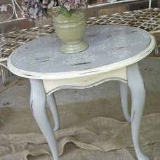 Eclectic Side Tables And End Tables by Hydrangea Home