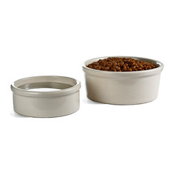 Stoneware Dog Bowl - I'm a sucker for anything pottery, and these gorgeous dog bowls are no exception. Even my small 10-pound dog finds a way to slide his dishes around, but these are sturdy enough to stay in place. Plus, they're gorgeous, which is not usually the case when it comes to pet bowls.