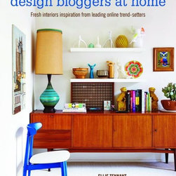Design Bloggers at Home by Ellie Tennant - This is a new book just out. The author Ellie Tennant of the blog Ellie Tennant is a writer and blogger from the UK. She traveled around the blogopshere with photographer Rachel Whiting capturing images of bloggers homes. Many tips for blogging are also included in the book.
