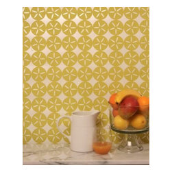 Madison&Grow - Maggie Wallpaper, Shimmering Dune Grass - Vanillawood is an official rep for Madison and Grow Wallpaper!