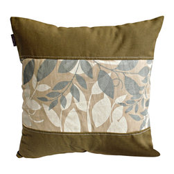Blancho Bedding - [Deep Woods] Linen Stylish Patch Work Pillow Floor Cushion (19.7 by 19.7 inches) - Aesthetics and Functionality Combined. Hug and wrap your arms around this stylish decorative pillow measuring 19.7 by 19.7 inches, offering a sense of warmth and comfort to home buddies and outdoors people alike. Find a friend in its team of skilled and creative designers as they seek to use materials only of the highest quality. This art pillow by Onitiva features contemporary design, modern elegance and fine construction. The pillow is made to have invisible zippers, linen shells and fill-down alternative. The rich look and feel, extraordinary textures and vivid colors of this comfy pillow transforms an ordinary, dull room into an exciting and luxurious place for rest and recreation. Suitable for your living room, bedroom, office and patio. It will surely add a touch of life, variety and magic to any rooms in your home. The pillow has a hidden side zipper to remove the center fill for easy washing of the cover if needed.