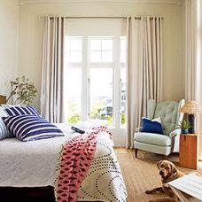 Coastal Blue Master Bedroom - MyHomeIdeas.com
