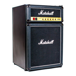 Modern Black Fridge - From the main stage to the fan cave, the Marshall Fridge was born to rock.