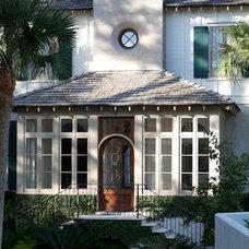 Eclectic Entry by Thomas Thaddeus Truett Architect