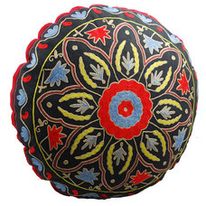 Eclectic Floor Pillows And Poufs by Modelli Creations