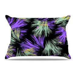 "Kess InHouse - Gabriela Fuente ""Tropical Fun"" Pillow Case, Standard (30"" x 20"") - This pillowcase, is just as bunny soft as the Kess InHouse duvet. It's made of microfiber velvety fleece. This machine washable fleece pillow case is the perfect accent to any duvet. Be your Bed's Curator."