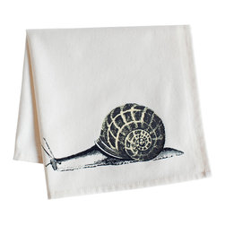 Ortolan - Snail Napkin - This one goes out to all you slow food lovers!