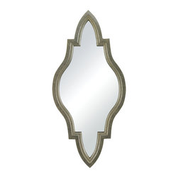 Sterling Industries - Sterling Industries 138-066 Jacarand-Moroccan Inspired Mirror In Silver Frame - Mirror (1)