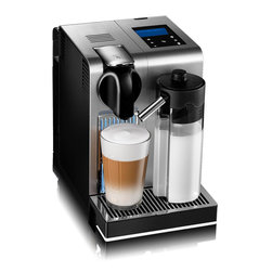 DeLonghi Nespresso - DeLonghi Nespresso Lattissima Pro EN750MB - Once again, DeLonghi brings their technology and expertise to the realm of single-serve brewing with the Lattissima Pro EN 750.MB espresso machine. Made from brushed aluminum and zamak elements and sporting an intuitive touch screen display for easy operation, you'll have no trouble integrating the machine into your life and your home.