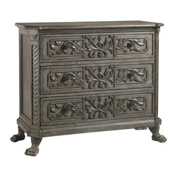 Henry Link - Henry Link Lewiston Single 3 Drawer Dresser in Silver Sage - Henry Link - Dressers - 014011153