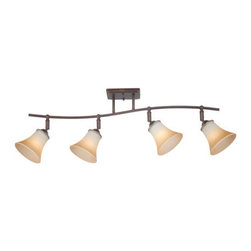 Quoizel Lighting - Quoizel DH1404PN Duchess 4 Light Track Lighting, Palladian Bronze - This 4 light Ceiling Track Light from the Duchess collection by Quoizel will enhance your home with a perfect mix of form and function. The features include a Palladian Bronze finish applied by experts. This item qualifies for free shipping!