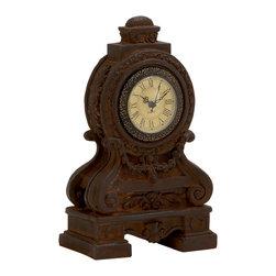 Wonderful Styled Ceramic Table Clock - Description: