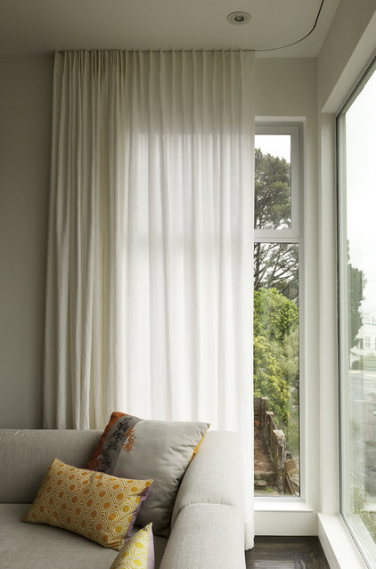 Modern Window Treatments by Stitch Custom Furnishings