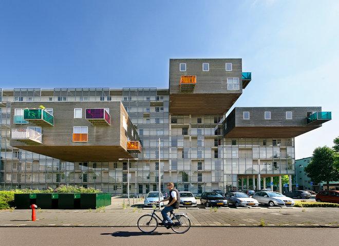 contemporary exterior WoZoCo, MVRDV