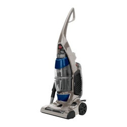 Bissell Total 52C2 Floors Complete Upright Vacuum - The Bissell Total 52C2 Floors Complete Upright Vacuum with powerful multi-cyclonic cleaning system to prevent suction loss is ideal for cleaning carpeted and hard flooring. No surface is too thickly fibered or slick and smooth for this deep-cleaner that utilizes latest and greatest in Bisssell's home cleaning technology. It even features a Febreze filter that eliminates odors and leaves your home smelling fresh and clean! Includes turbo brush tool and dusting tool that are perfect for vacuuming stairs, furniture, and other hard-to-reach crevices.About BissellMelville Bissell patented the BISSELL carpet sweeper in 1876, the company's first mechanical sweeper ever conceived. Shortly after, he built the first Bissell manufacturing plant in Michigan and began helping Americans and all of the world suck it up and tackle the confounding and unhealthy problem of dust-laden carpets and floors. A technology and trend innovator in the field of home cleaning solutions for over 100 years, Bissell remains committed to bringing you the most advanced, effective, and practical solutions for keeping your home clean.