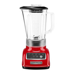 KitchenAid KSB1570 5-Speed Blender, Empire Red - I must have my red KitchenAid blender for smoothies. I love the sleekness and, of course, the red color.
