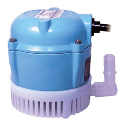 Little Giant - Little Giant 1 Small Submersible Pump 205 Gph - Little Giant 1 Is An Ideal Pump For Commercial, Industrial, And Home Use Worldwide Where Liquid Must Be Transferred Or Recirculated. This Includes Aquariums, Swimming Pools, Water Displays, Ice Makers, Air Conditioners, Boat Bailing, Fuel Oil Transfer, Circulating Water For Welding And Pipe Threading Machines, Pumping Mild Chemicals Such As Soap Solutions, Acids, Plating Solutions, And Fertilizers. Little Giant 1 Is A Small 205 Gph Submersible Pump.
