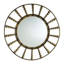 Cyan Design - Cyan Design 04139 Oliver Round Mirror - Cyan Design 04139 Oliver Round Mirror