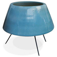 Eclectic Outdoor Pots And Planters by Jonathan Adler