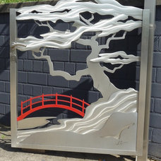 Asian Outdoor Decor by Stainless Steel Atelier