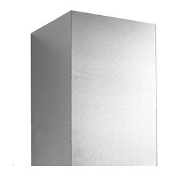 "32"" Flue Cover for 30"" Fente Series Stainless Steel Wall-Mount Range Hood - This simple flue cover is made for use with the 30"" Fente Series Stainless Steel Wall-Mount Range Hood. Use one or more for installations that require a longer flue."