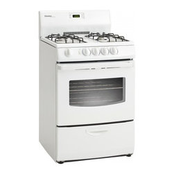 "Danby - Danby 24"" White Gas Range - Features:"