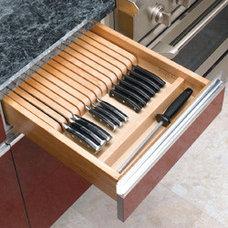 Kitchen Drawer Organizers by Custom Service Hardware, Inc