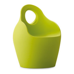 DomItalia Furniture - Baba Outdoor Chair in Green - This chair is well suited for a fun relaxing by the pool or terrace. The Baba collection is widely popular among the youth. This chair has not only a modern style and design, but also the quality of manufacturing and bold color. Transform your home and outdoor space with our new chairs by Domitalia.