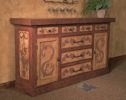 Mediterranean Buffets And Sideboards by Interiors by Mary Susan