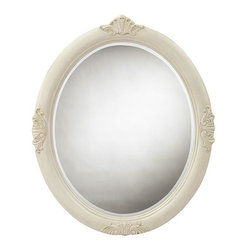 Home Decorators Collection - Winslow Oval Decorative Mirror - The graceful arc of our Winslow Oval Decorative Mirror is heightened by its detailed motifs. Place this mirror above your Winslow Vanity for a coordinated look. Beveled mirror. Your choice of antique finish. Complements the other items in our Winslow Collection.