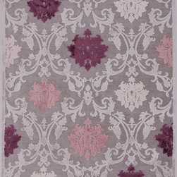 """Jaipur - Transitional Fables 7'6""""x9'6"""" Rectangle Gray-Gray Area Rug - The Fables area rug Collection offers an affordable assortment of Transitional stylings. Fables features a blend of natural Gray-Gray color. Machine Made of Viscose & Chenille the Fables Collection is an intriguing compliment to any decor."""