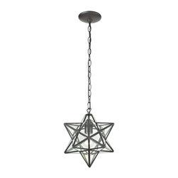 Sterling Industries - Star-1Light Glass Pendant Lamp - Star-1Light Glass Pendant Lamp
