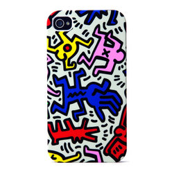Keith Haring iPhone Case, Chaos - Chaos by Keith Haring for your iPhone.