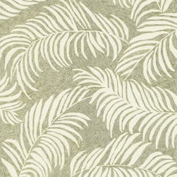 """Loloi - Loloi Tropez TZ-01 (Sage, Ivory) 7'6"""" x 9'6"""" Rug - Set the foundation for an island lifestyle with our Tropez Collection. Hand hooked in China of 100% polypropylene, Tropez features tropical inspired design with trending-now colors suited for outdoor living. Take a closer look (or zoom in), and you'll notice the use of mixed yarns that give Tropez a refined color blend. And like all of our indoor/outdoor rugs,Tropez is easy to clean and will withstand any rain or sunshine."""