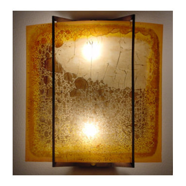 Sunrise - Wall sconces - Our beautiful wall sconces are made of art stained glass.