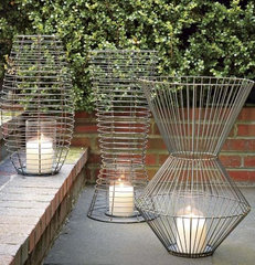 modern outdoor lighting by West Elm