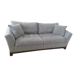 Raymour & Flanigan Blue Couch - Retail Price: $1200