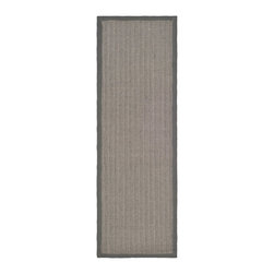 Safavieh - Safavieh Natural Fiber Casual Rug X-3-A444FN - Hand-woven with natural fibers, this casual area rug is innately soft and durable.  This densely woven rug will add a warm accent and feel to any home.  The natural latex backing adds durability and helps hold the rug in place.