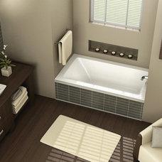 SKYLINE Alcove bathtub - MAAX Professional