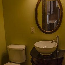 Mediterranean Bathroom by Owen Homes LLC
