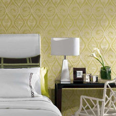 Traditional Bedroom by American Blinds Wallpaper and More