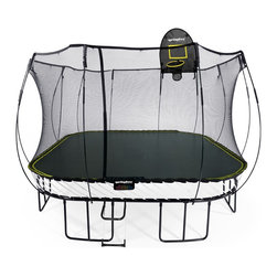 Springfree Trampoline - Springfree 13ft Trampoline - Jumbo Square Safe Trampoline - S155 - Springfree Trampoline is the world's safest trampoline. Our 13ft square trampoline the S155 is designed for spacious backyards and active jumpers. Because children deserve safe trampoline play.