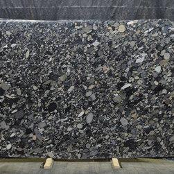 Royal Stone & Tile Slab Yard in Los Angeles - Marinace Nero extoic granite slab from Brazil at Royal Stone & Tile