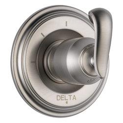 Delta Cassidy 3 Function Diverter Trim - Delta Cassidy 3 Function Diverter Trim, Brilliance® Stainless Finish, T11897-SSLHP H598SS