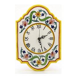 Artistica - Hand Made in Italy - Corona: Wall Clock - Corona Collection.