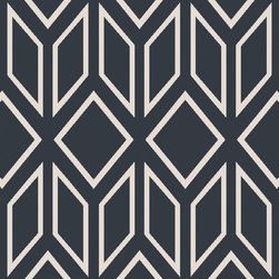 """Surya - Surya Skyline SKL-2004 (Navy, Light Gray) 3'3"""" x 5'3"""" Rug - This Hand Tufted rug would make a great addition to any room in the house. The plush feel and durability of this rug will make it a must for your home. Free Shipping - Quick Delivery - Satisfaction Guaranteed"""